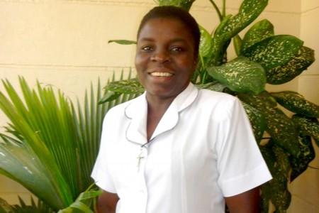 Primeira Irmã ICM do Haiti: Consagração Definitiva da Irmã Estine Jean Charles
