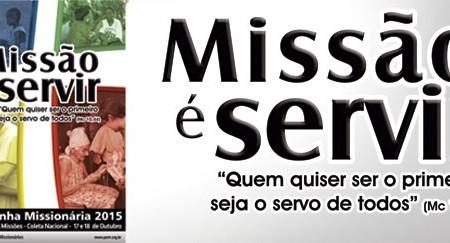 """""""Missão é servir"""": Outubro é o mês missionário"""