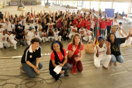 Encontro de jovens das Obras Sociais ICM evidencia protagonismo e liderança juvenil