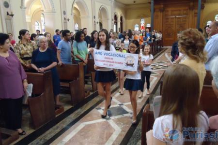 Colégio Puríssimo celebra a Beatificação de Bárbara Maix e o Ano Vocacional