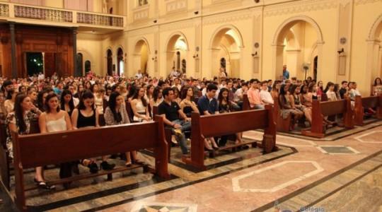 Colégio Puríssimo celebrou formatura de alunos do ensino médio
