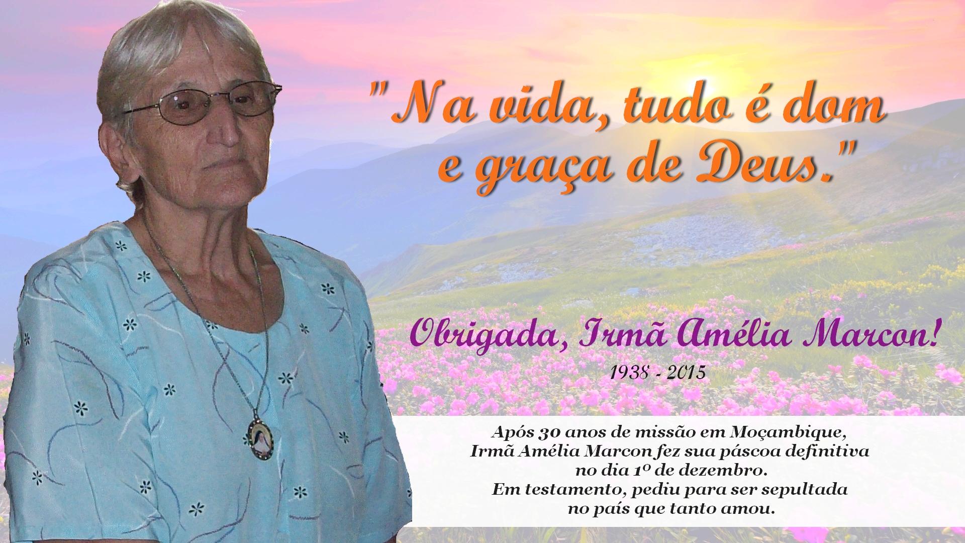 Religiosa foi uma das primeiras missionárias brasileiras em Moçambique.