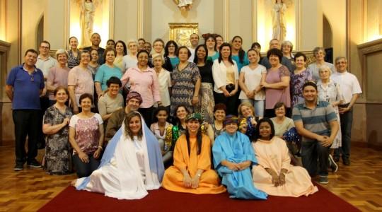 Colaboradores/as da Congregação celebram o Natal de Jesus