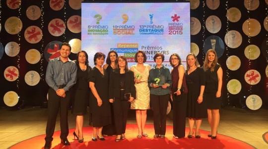 Colégio Glória é ouro no Prêmio SINEPE de Inovação em Educação