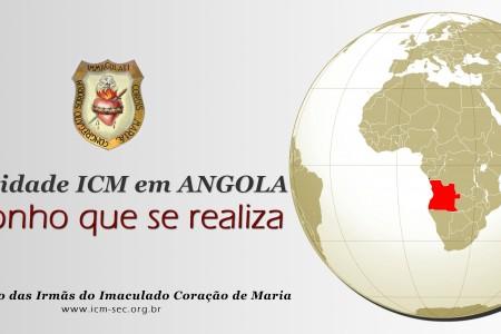 Fundação da comunidade ICM em Angola começa a se tornar realidade