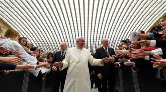 Papa abre ciclo de catequeses sobre a 'misericórdia na Bíblia'