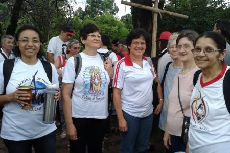 Irmãs participam da Romaria da Terra no Rio Grande do Sul