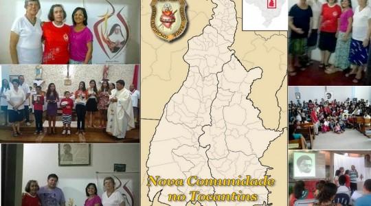 Congregação funda nova comunidade missionária no Tocantins
