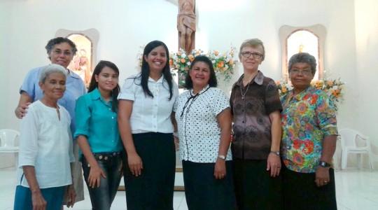Província Guadalupe acolhe a postulante Helen Regina em Picos, Piauí
