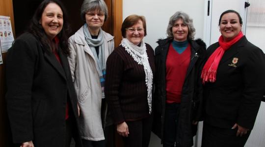 Irmã Leonardi Backes visitou a Sede Geral da Congregação