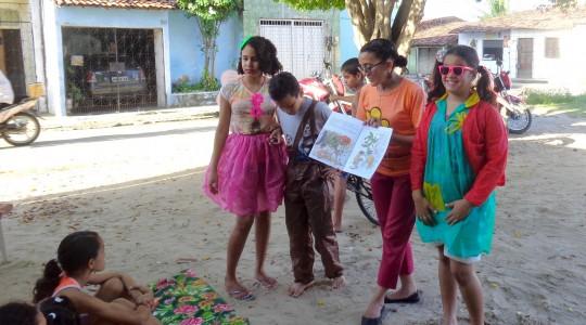 Projeto LiteraRua leva incentivo à leitura para crianças em Fortaleza/CE