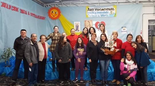 Escola Cristo Rei acolheu visita do barco do Ano Vocacional ICM