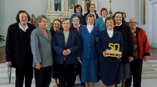 Irmã Maria Dominga Dotta celebra 50 anos de Vida Religiosa Consagrada