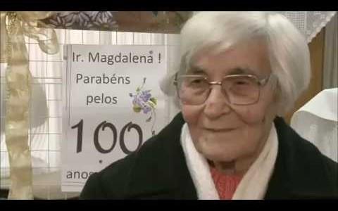 REDEVIDA: Irmã Magdalena Favreto completa 100 anos de vida