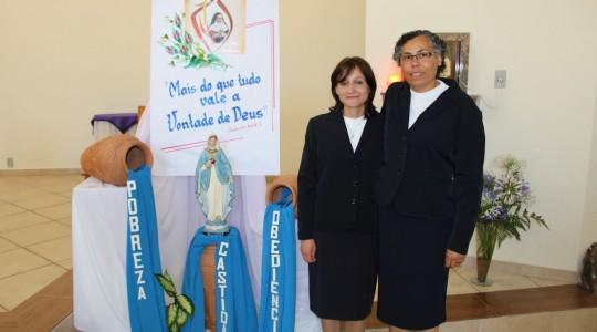 Congregação acolhe duas novas Irmãs ICM