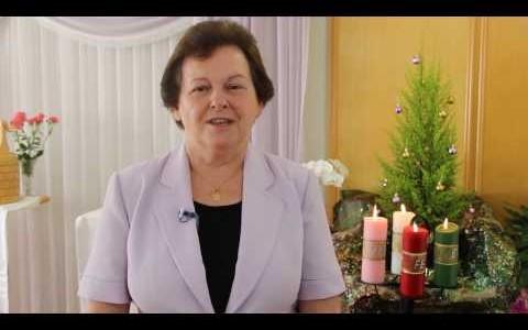 Mensagem de Natal da Diretora Geral, Irmã Marlise Hendges