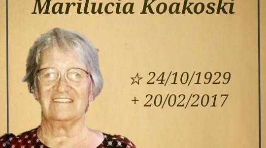 Faleceu a Irmã Marilucia Koakoski, uma das primeiras ICM enviadas para o nordeste brasileiro