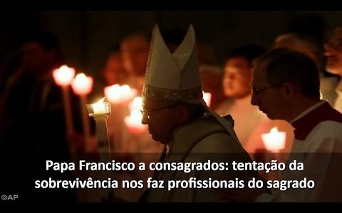 Papa Francisco celebra Missa pelo 21º Dia Mundial da Vida Consagrada