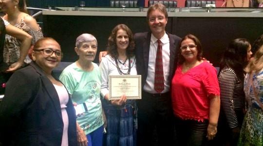 Assembleia Legislativa do Amazonas homenageia a Irmã Roselei Bertoldo