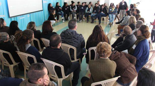 Congregação promove encontro com educadores sociais
