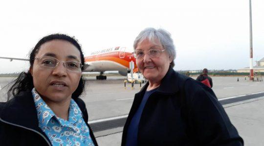 Irmãs visitam comunidade ICM em Angola