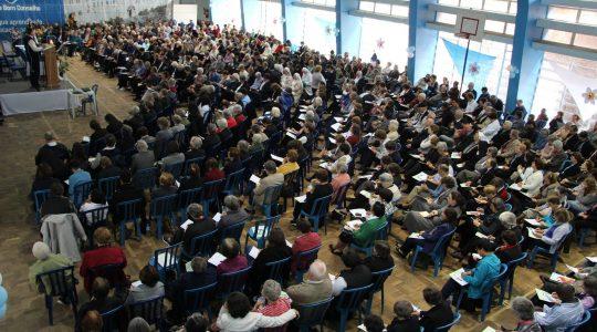 Religiosos/as gaúchos celebram os 60 anos da CRB com a presença do cardeal Braz de Aviz