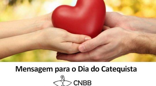 Comissão da CNBB divulga mensagem para o Dia do Catequista