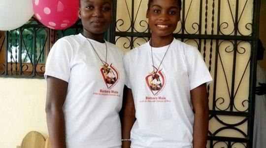 Congregação acolhe duas postulantes no Haiti