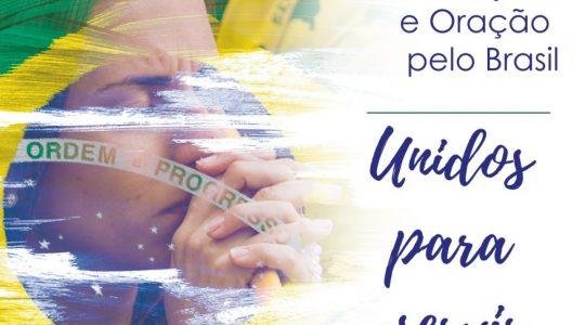 CNBB estimula Jornada de Oração e Jejum pelo Brasil por ocasião do Dia da Pátria