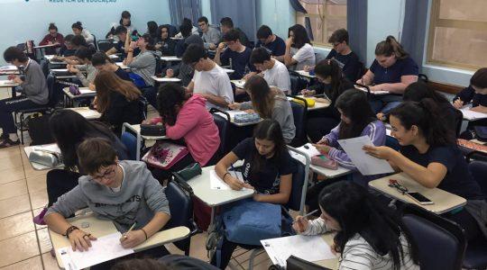 Colégio Puríssimo: Alunos do Ensino Médio refletem sobre vocações