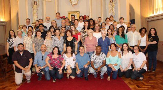 Irmãs e colaboradores/as celebram o Natal de Jesus
