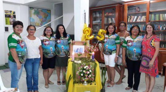 Leigas ICM de Manaus retomam os encontros com homenagem à Irmã Rose Bertoldo