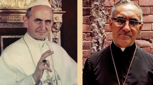 Paulo VI e Dom Romero serão santos. Papa autoriza os Decretos