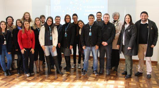 Realizado encontro de comunicação e marketing da Rede ICM de Educação