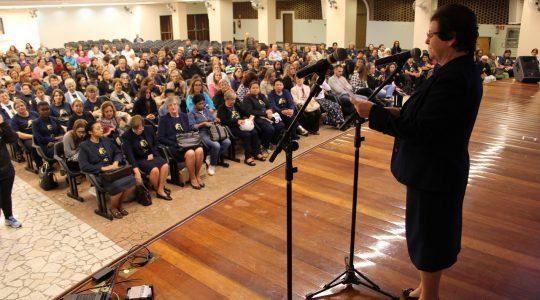 APARECIDA: Mais de 400 pessoas participam de encontro do Bicentenário de Bárbara Maix