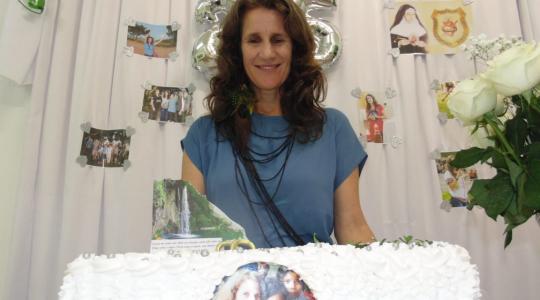 MANAUS: Celebração do Jubileu de Prata da Ir. Rose Bertoldo e o Bicentenário de Bárbara Maix