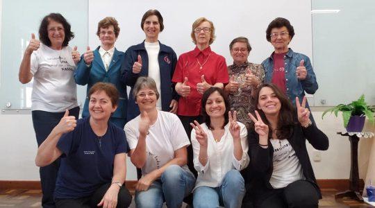 Encontro das animadoras e articuladoras vocacionais da Província Maria Mãe de Deus
