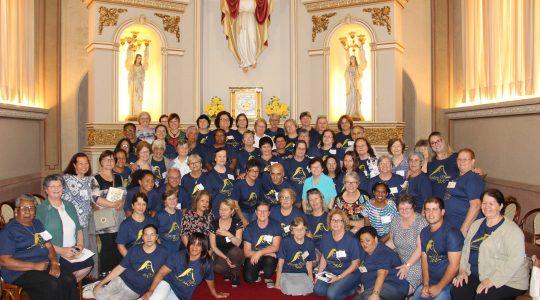 Província Maria Mãe de Deus realizou encontro com grupos de leigos ICM