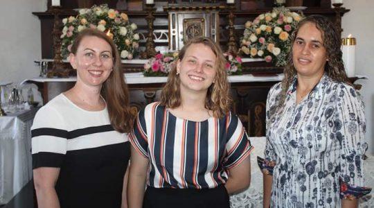 Formandas são acolhidas no Noviciado ICM em Goiás