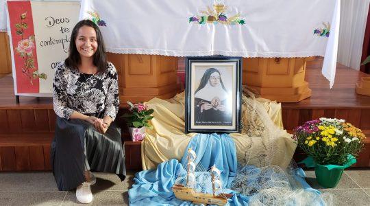 Província Maria Mãe de Deus: Suély Alba é acolhida no Postulado ICM
