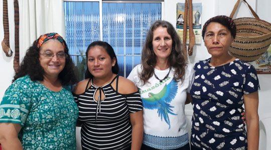 Manaus/AM: jovem Laila Lina é acolhida no aspirantado