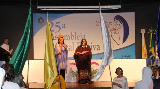 ICM presente na Assembleia Geral Eletiva da Conferência dos religiosos (as)