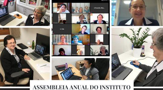 Online: Irmãs participam da assembleia anual do Instituto Religioso Bárbara Maix - IRBM
