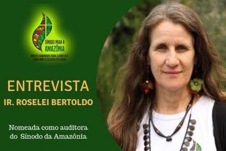 ENTREVISTA: Irmã Roselei Bertoldo, nomeada como auditora do Sínodo da Amazônia