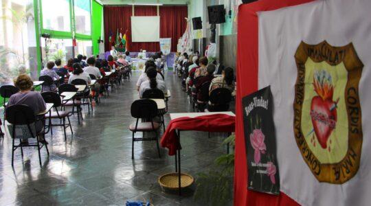 Apresentação dos relatórios e ação de graças marca o primeiro dia do III Capítulo da Província Guadalupe