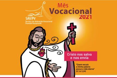Comissão da CNBB apresenta cartaz do mês vocacional 2021
